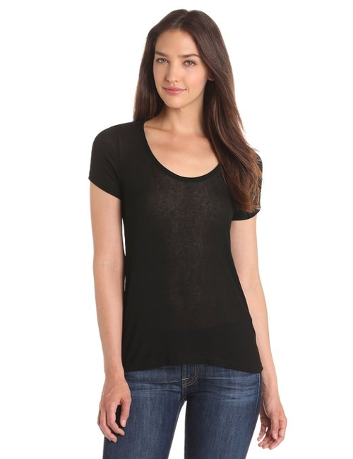 Drapey Lux Scoop Neck Tee Shirt by Splendid in Insidious: Chapter 3