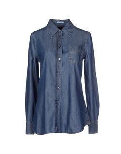Denim Shirt by Prada in Rosewood