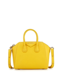 Antigona Mini Leather Satchel Bag by Givenchy in Empire