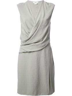 Draped Wrap-Style Dress by Helmut Lang in Addicted