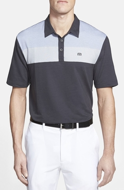 'Bueller' Trim Fit Polo Shirt by Travis Mathew in Ballers