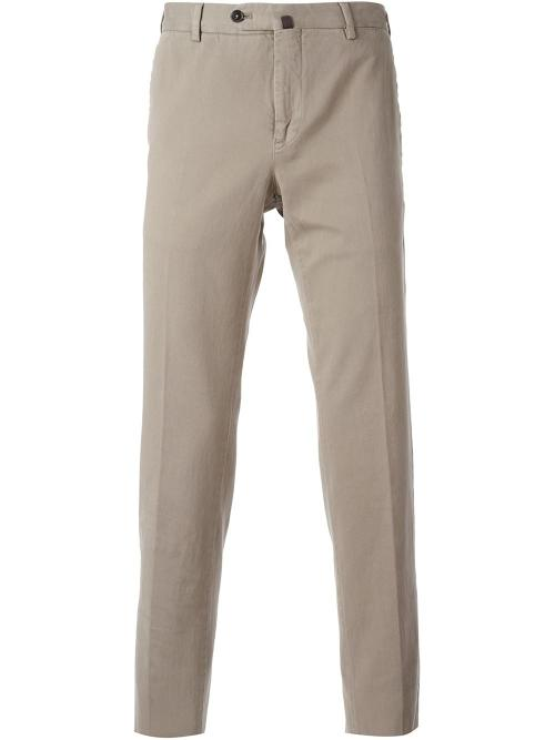 Classic Chino Pants by Pt01 in Couple's Retreat