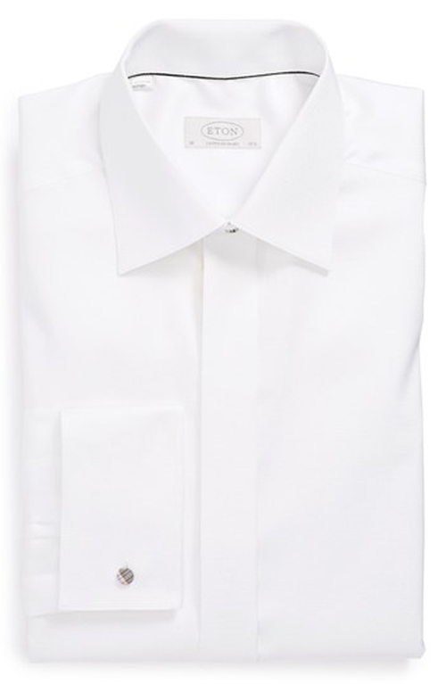 Contemporary Fit French Cuff Tuxedo Shirt by Eton in Suits - Season 5 Episode 5