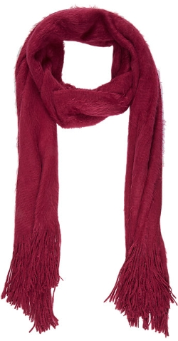 Fuzzy Scarf by Barneys New York in Poltergeist
