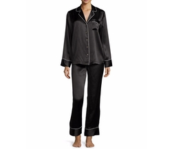 Silk Satin Two-Piece Pajama Set by Neiman Marcus in Keeping Up With The Kardashians