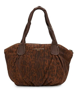 Gracia Printed Suede Tote Bag by Liebeskind in Pretty Little Liars