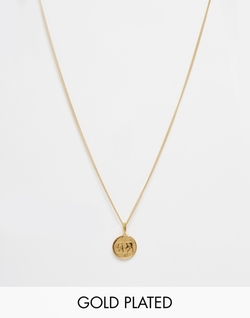 Five Pence Irish Coin Necklace by Katie Mullally in Billions