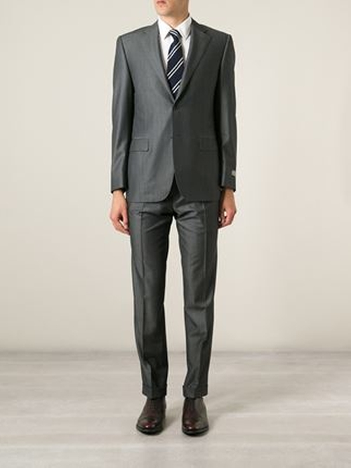 Two Piece Suit by Canali in The Good Wife - Season 7 Episode 5