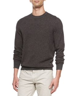 Striped Crewneck Sweater by Vince in Modern Family