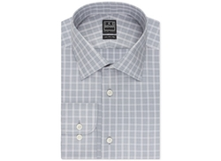 Tonal Check Dress Shirt by Ike Behar in The Big Short