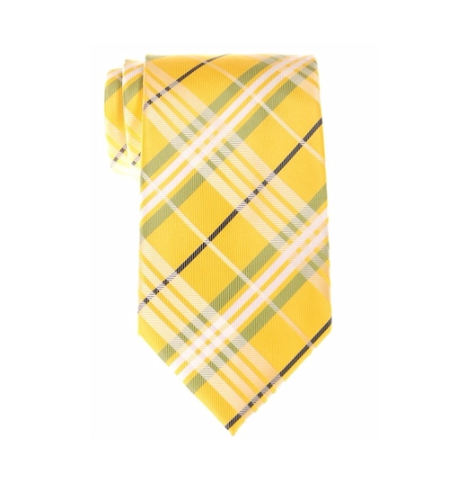 Tartan Plaid Check Tie by Retreez in The Intern