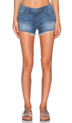Keira Denim Short by Paige Denim in Paper Towns