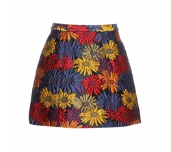 Loran Jacquard Skirt by Alice + Olivia in Unbreakable Kimmy Schmidt