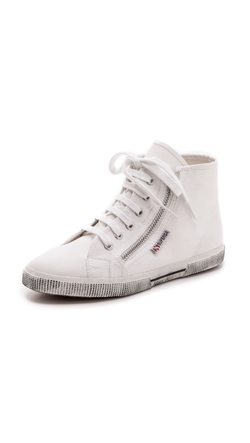 High Top Sneakers by Superga in Pretty Little Liars