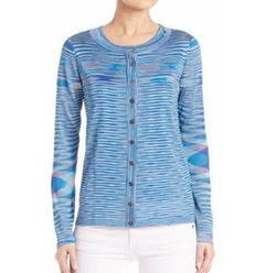 Striped Knit Cardigan by Missoni in Fuller House