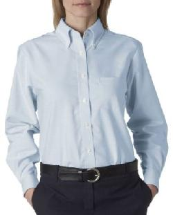 UC Ladies Oxford Shirt by Ultraclub in Walk of Shame