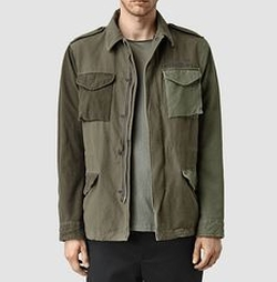Natural Addison Jacket by AllSaints in The Fate of the Furious