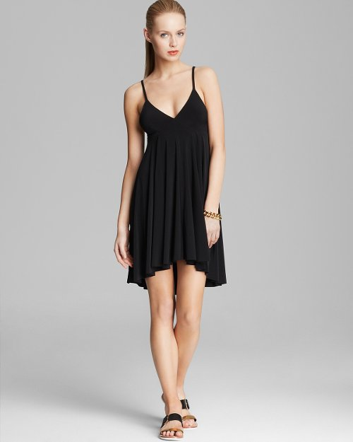 High Low Slip Flare Dress by Kamalikulture in The American