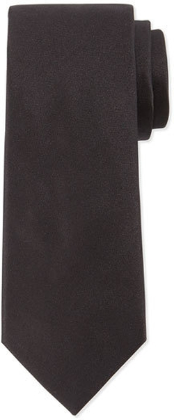 Solid Silk Tie by Lanvin in Power