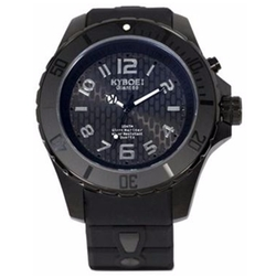 Stainless Steel & Silicone Strap Watch by Kyboe in Arrow