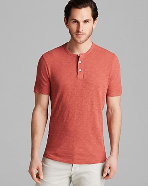 Lightweight Slub Henley by Vince in The Expendables 3