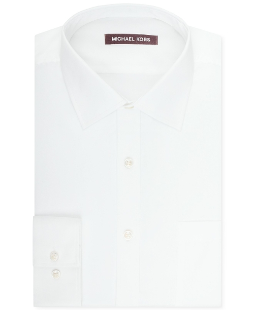 Solid Sateen Dress Shirt by Michael Kors in Unfriended