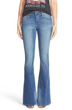'Fargo' Flare Jeans by Articles of Society Red Label in Wet Hot American Summer