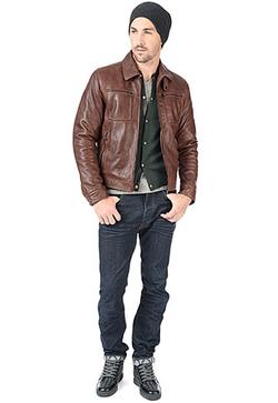 Hemingway Lamb Leather Jacket by Danier in Arrow