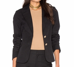 Patch Pocket Blazer by Derek Lam 10 Crosby in Power