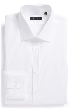 Trim Fit Stretch Dress Shirt by Sand in Taken 3