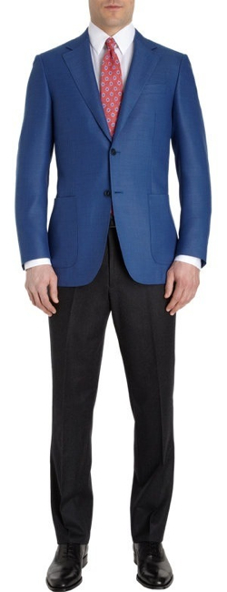Neat Blazer by Canali in Crazy, Stupid, Love.