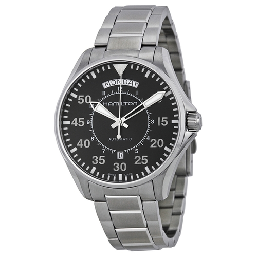 Pilot Day Date Automatic Mens Watch by Hamilton in Crazy, Stupid, Love.