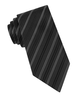 Andes Stripe Tie by John Varvatos U.s.a. in Arrow