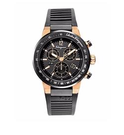 F-80 Titanium Chronograph Watch by Salvatore Ferragamo  in Ballers