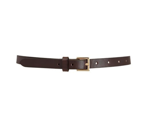 Square Buckle Skinny Belt by Barneys New York in Bridesmaids