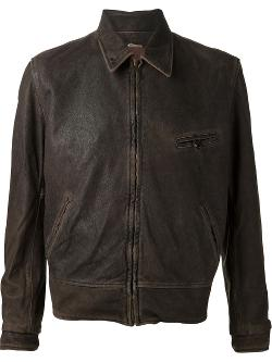 Cognac Sheepskin Leather '1940's' Jacket by Levi's Vintage Clothing in The Expendables 3
