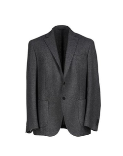 Wool Blazer by Luigi Bianchi Mantova in Midnight Special