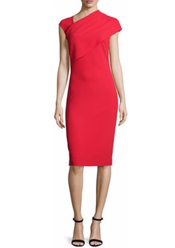 Sonya Cap-Sleeve Sheath Dress by Ralph Lauren in Guilt