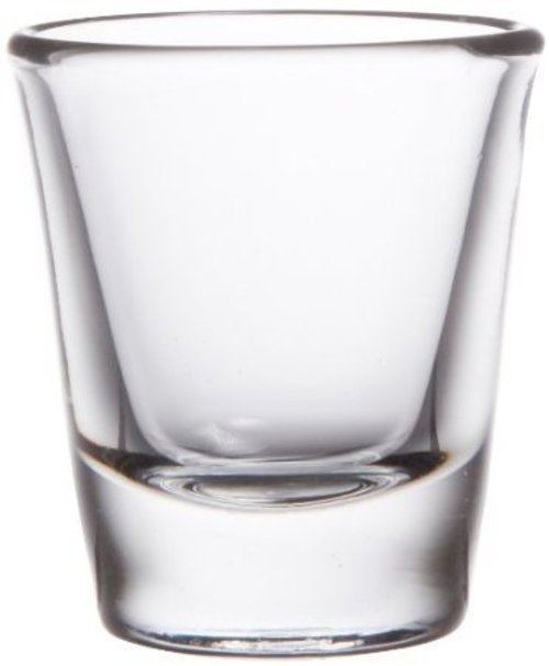 Heavy Base Shot Glass by Anchor Hocking in (500) Days of Summer