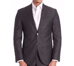 Woven Textured Sportcoat by Saks Fifth Avenue Collection in Empire