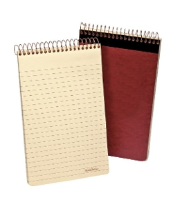 Gold Fibre Retro Writing Pad by Ampad in Silver Linings Playbook