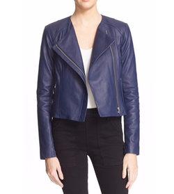 Dali Leather Jacket by Veda in Arrow