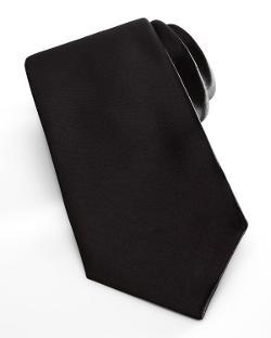 Satin Formal Tie by Neiman Marcus in Yves Saint Laurent