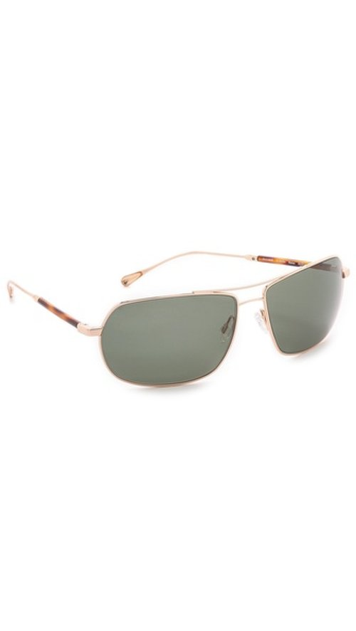 Bates Polarized Sunglasses by Oliver Peoples West in Top Five