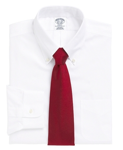 Non-Iron Regent Fit Button-Down Collar Dress Shirt by Brooks Brothers in Modern Family