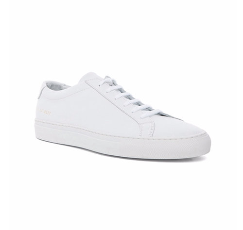 White Original Achilles Low Sneakers by Common Projects in Master of None - Season 1 Episode 7