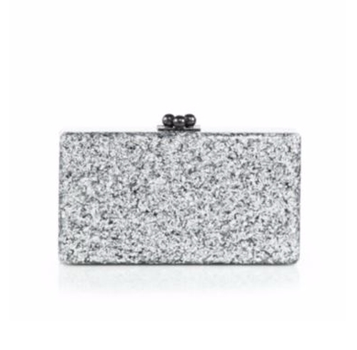 Jean Glittered Acrylic Clutch Bag by Edie Parker in Fifty Shades Darker