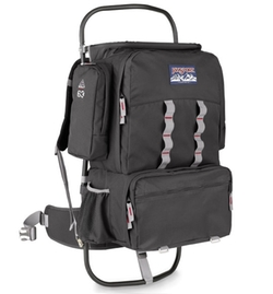 Scout External Frame Backpack by Jansport in Scout's Guide to the Zombie Apocalypse