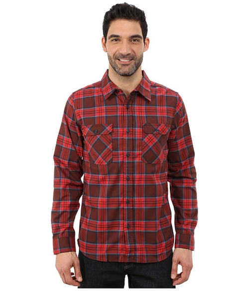 Flannel Long Sleeve Shirt by Mountain Hardwear in The Big Bang Theory - Season 9 Episode 10