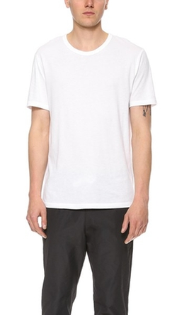 Classic Short Sleeve T-Shirt by T By Alexander Wang in Ballers